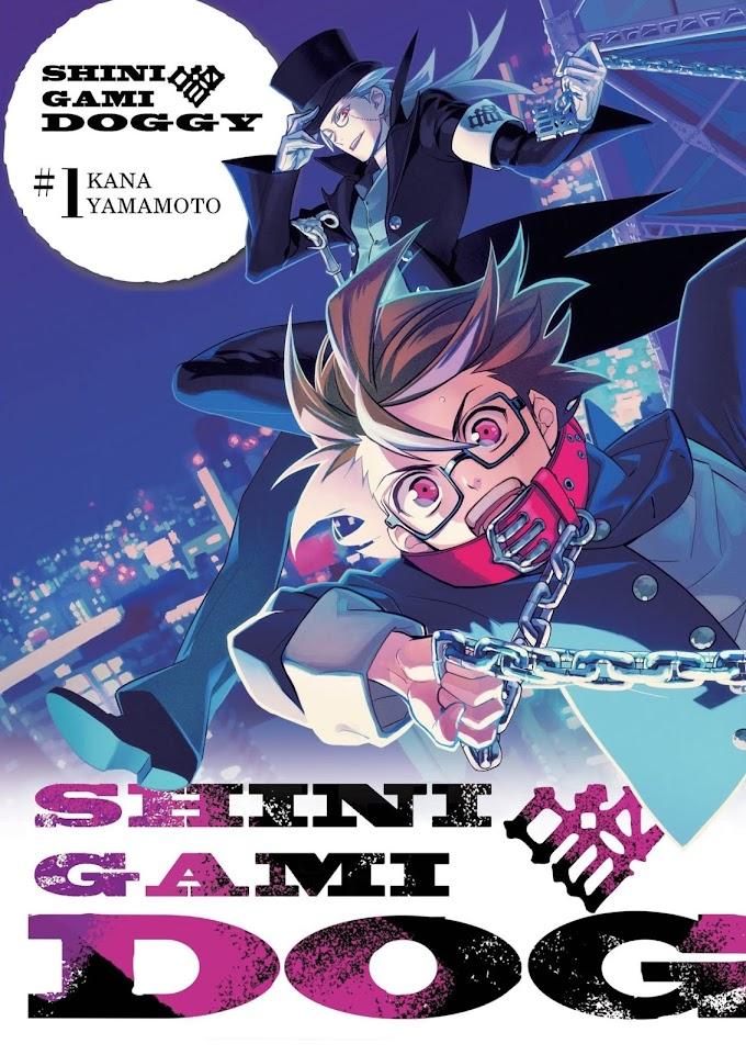 Pieskie jest życie martwego licealisty - recenzja mangi Shinigami DOGGY (tomy 1-3)