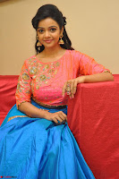 Nithya Shetty in Orange Choli at Kalamandir Foundation 7th anniversary Celebrations ~  Actress Galleries 103.JPG