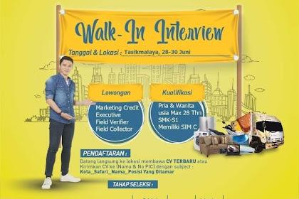 Lowongan Kerja FIFGROUP Tasikmalaya  (Walk In Interview)