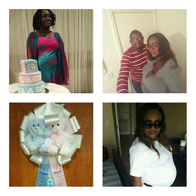 Emem Isong Gives birth to Twins