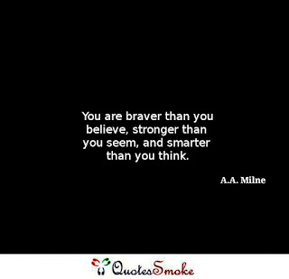 Inspirational Quote by A.A. Milne