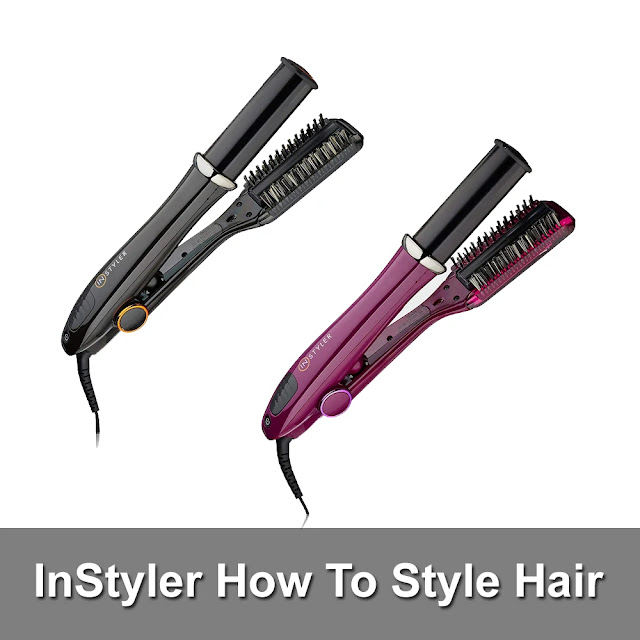 InStyler Original Demo How To Style Hair
