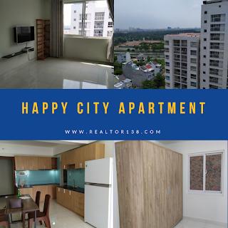 căn hộ 2 phòng ngủ chung cư Happy City đường nguyễn văn linh