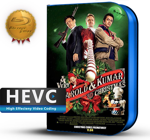 A Very Harold & Kumar Christmas (2011) 1080P HEVC-8Bits BDRip Latino/Ingles(Subt.Esp)(Comedia)