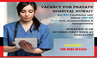 Vacancy For Private Hospital Kuwait
