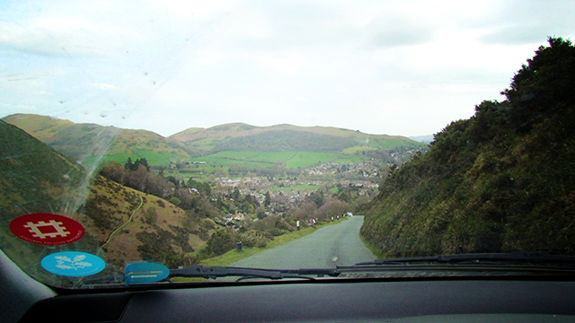 Driving in Shropshire