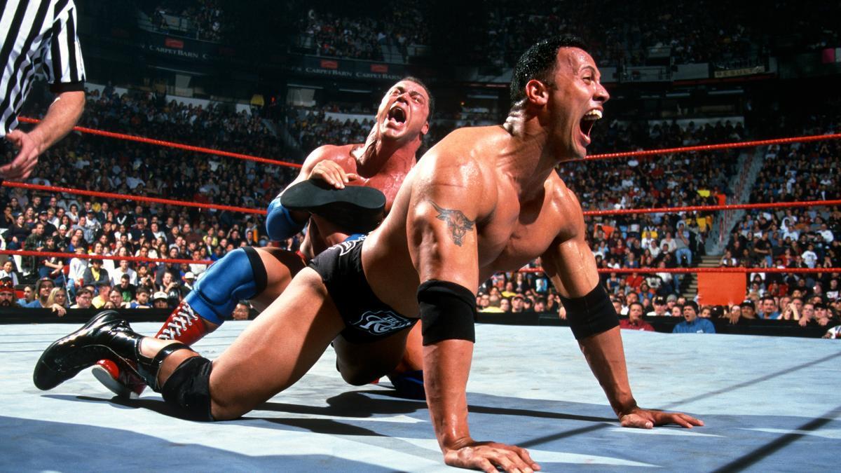 """Kurt Angle explica o porquê The Rock """"exagerava"""" em suas lutas"""