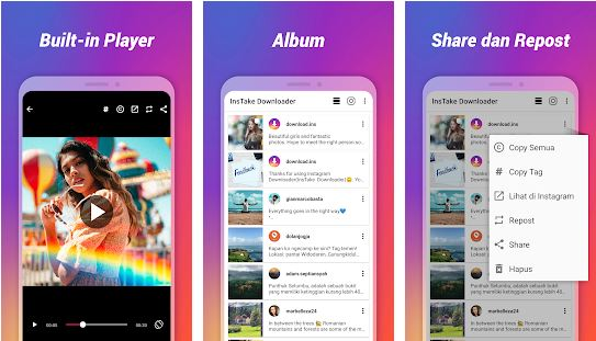 download Foto & Video Downloader Instagram APK [MOD No Ads] Versi terbaru 2020 2