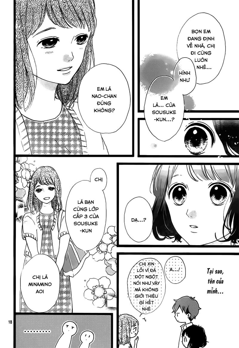 Honey (MEGURO Amu) chap 37 - Trang 20