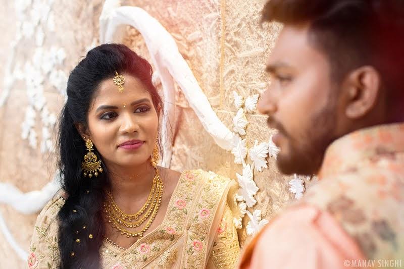 Aswathy + Dilip = Ring Ceromony Photography - Jaipur.