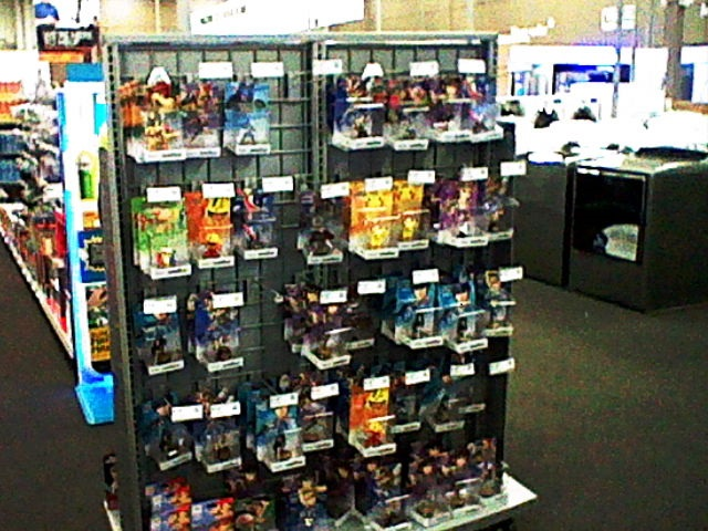 Dedicated Best Buy amiibo shelf store display