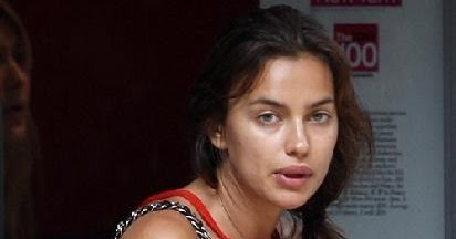 Very Cute Lovely Wallpapers Irina Shayk New Without Makeup Images 2013 14 World
