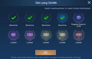 cara melihat semua skin yang sudah dimiliki di mobile legend