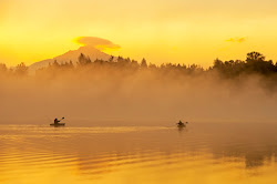 Kayakers at Sunrise