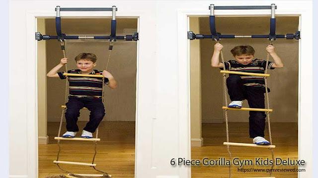 6 Piece Gorilla Gym Kids Deluxe