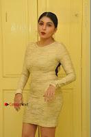 Actress Pooja Roshan Stills in Golden Short Dress at Box Movie Audio Launch  0012.JPG