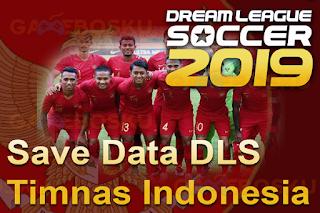 Anda jangan lupa untuk Unduh juga file  Save Data DLS 2019 Timnas indonesia Update September