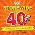 家居用品的闪电促销优惠来了!全场折扣40%,最低消费RM 5元起!