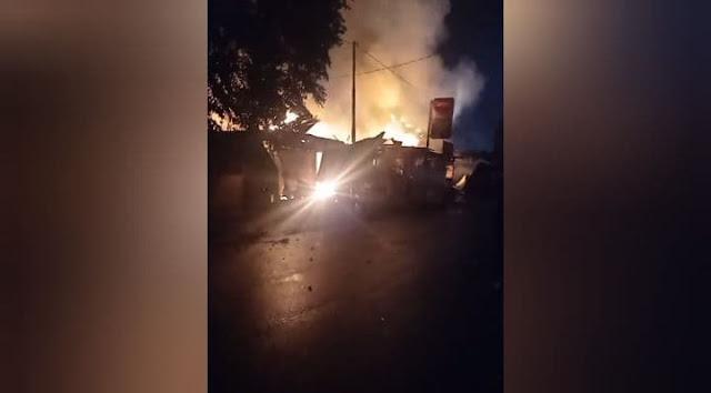 Oknum Ondoafi Terlibat Pembakaran Ruko di Kawasan Bandara Sentani