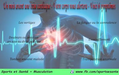 Un mois avant une crise cardiaque - Votre corps vous alertera - Voici 6 symptômes