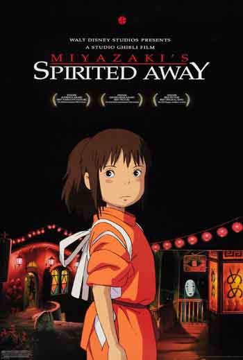 Spirited Away 2001 480p 400MB BRRip Dual Audio [Hindi - Japanese]