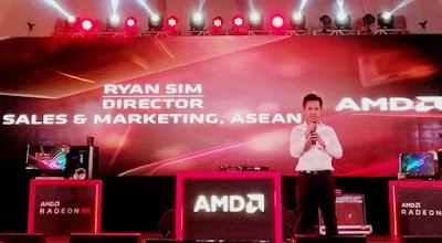 Ryan Sim, Director Sales & Marketing AMD ASEAN