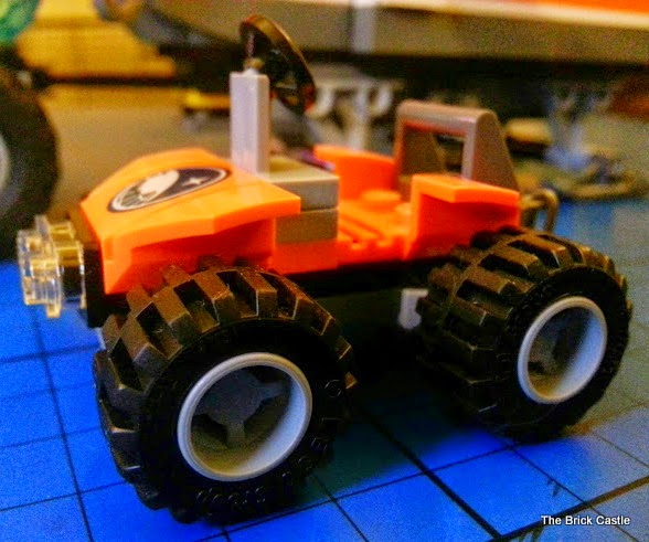 LEGO City Arctic Outpost set 60035 Review LEGO ARCTIC Quad Bike