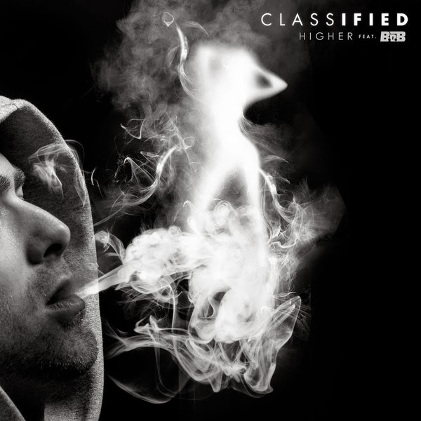 Classified - Higher (feat. B.o.B) - Single Cover