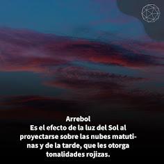 Nubes Arrebol