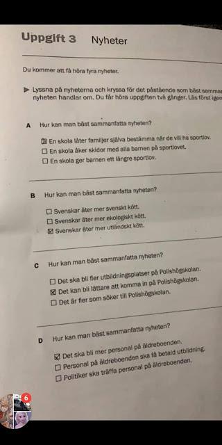 دورة اسفى كوش سى ١٥/٢٠١٩ - تعلم السويدية مع الشبكشى sfi kurs c 15/2019