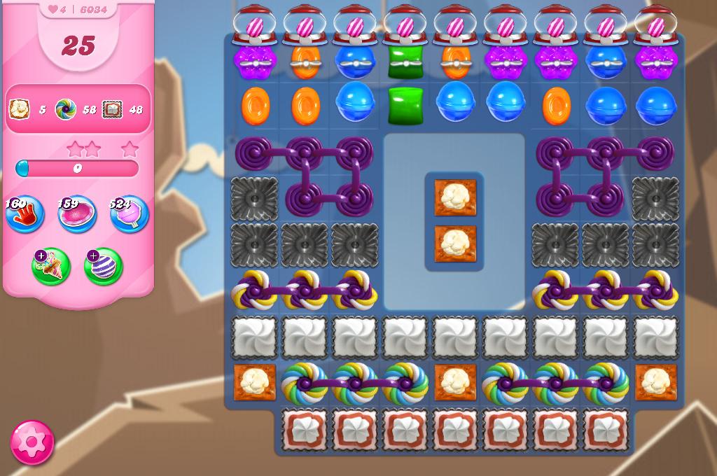 Candy Crush Saga level 6034