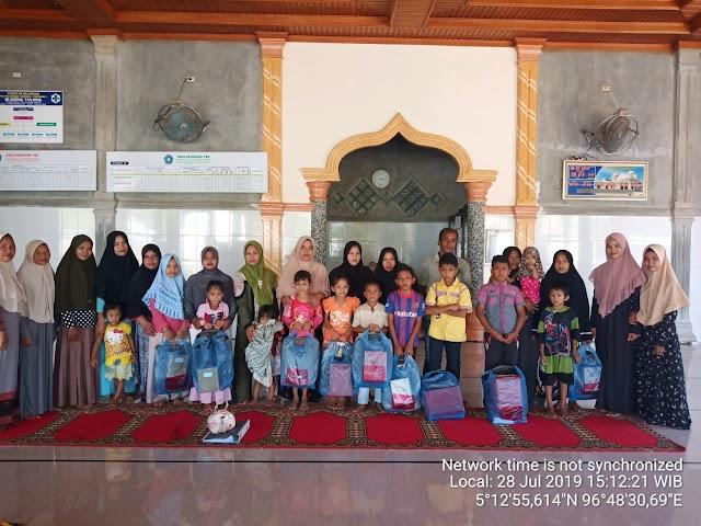 Pemeritah Gampong Tanjong Paya Alokasikan APBG Untuk Bantuan Paket Peralatan Sekolah