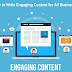 How to Write Engaging Content for All Businesses