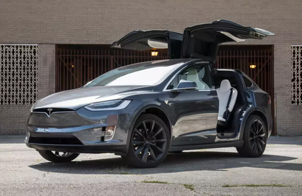 A Tesla Model X...which one of my old high school friends now owns.