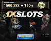 Up to 1500 Deposit Bonus and 150 Free Spins - 1XSLOTS