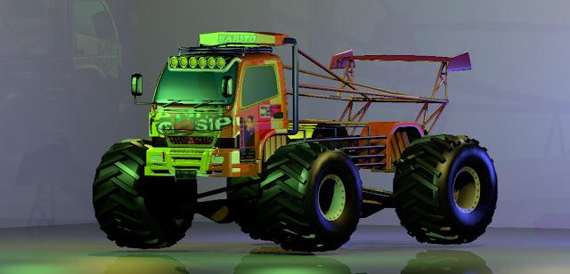 Truck Canter Monster