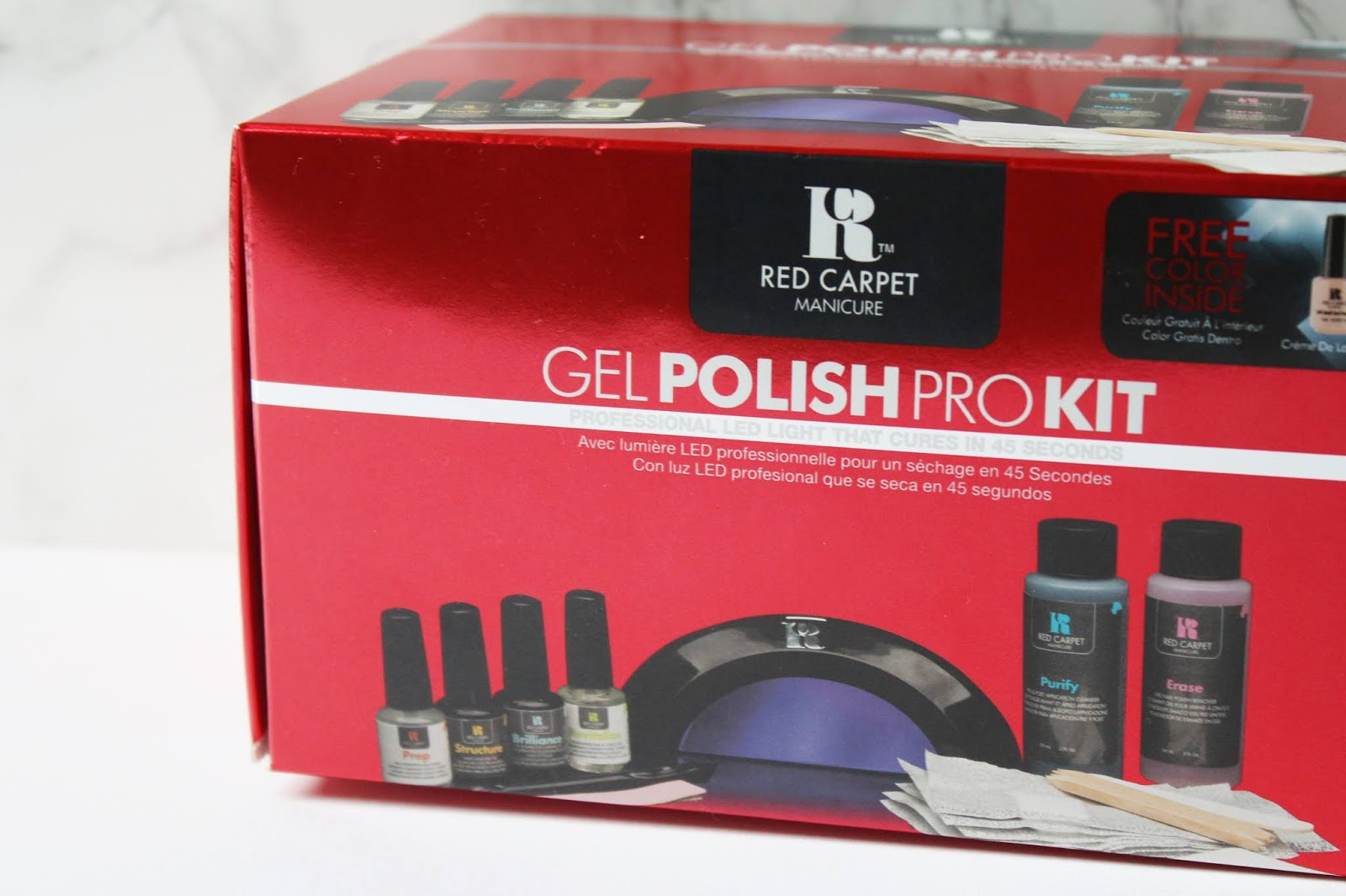 Red Carpet Manicure Professional Starter Kit Review