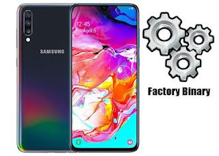 روم كومبنيشن Samsung Galaxy A70 SM-A705F