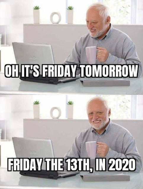 Friday the 13th in 2020 meme
