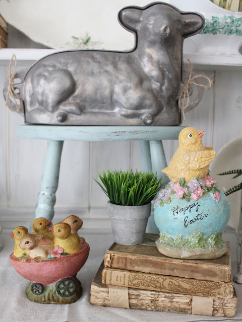 Fun Spring And Easter Decor Ideas From Itsy Bits And Pieces Blog