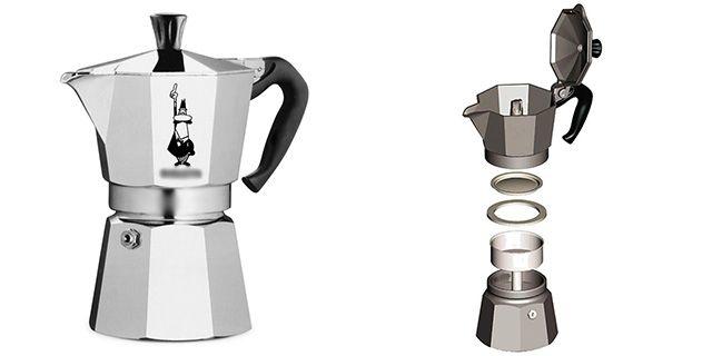 moka pot klasik özellikler - www.kahvekafe.net