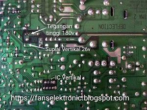 hati hati solder tv LG bisa rusak