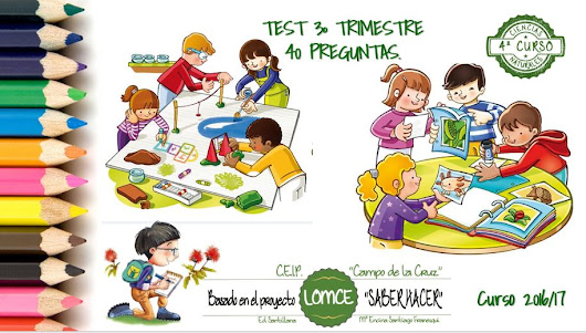 TEST C. NATURALES 3º TRIMESTRE