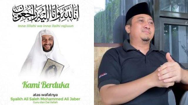 Syekh Ali Jaber Wafat, Ustadz Yusuf Mansur: Insya Allah Syahid, Mohon Doakan!