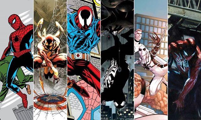 Trajes y versiones diferentes y alternativos de Spiderman