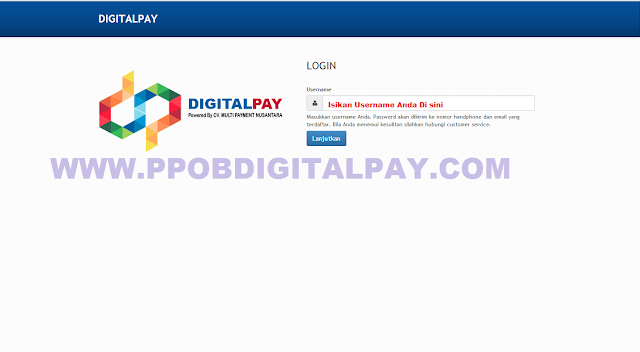 Digital Pay.co.id Web Transaski PPOB Digital Pay