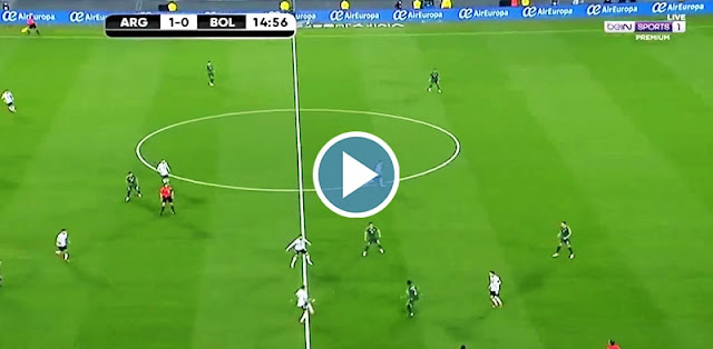 Argentina vs Bolivia Live Score