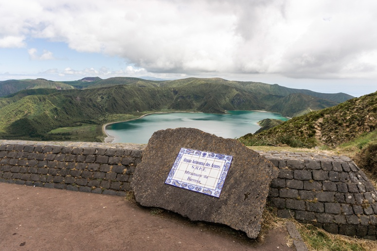 Lagoa do Fogo wyspa Sao Miguel