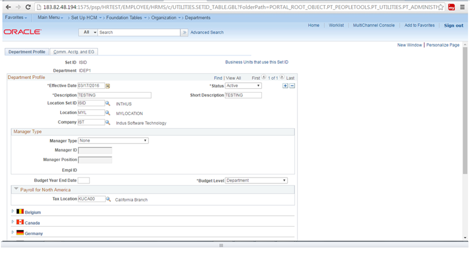 peoplesoft functional concepts  peoplesoft hcm core hr