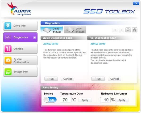 برنامج, حديث, ومتطور, لإدارة, ومراقبة, وإصلاح, أقراص, اس, اس, دى, ADATA ,SSD ,ToolBox